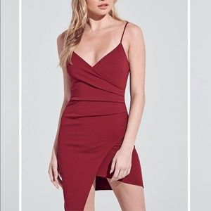 Dresses & Skirts - Jasmine mini dress in wine